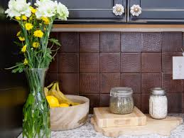 creative modern kitchen backsplash ideas for dark wooden cabinets