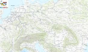 Carrier Route Maps by European Waterways Barge Carrier Inland Waterways Transport