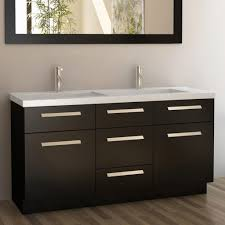 White Bathroom Vanity With Granite Top by Bathroom Elegant White Bathroom Vanity With Some Drawers By