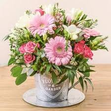 Flowers Cape Town Delivery - a vibrant fresh bouquet of pink u0026 cerise flowers expertly