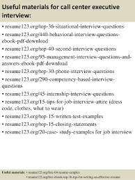 Resume For Call Center Jobs by Top 8 Call Center Executive Resume Samples