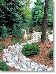 Dry River Bed In Yard For The Home Pinterest Rivers Yards - Backyard river design