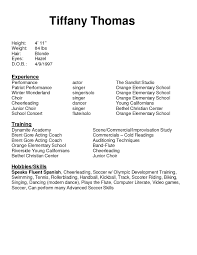 Qualifications Resume Example by Examples Of Resumes Resume Example Amazing 10 Format Ideas Free