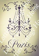 Shabby Chic Stencils by 7 Best Chandelier Stencil Images On Pinterest Chandeliers