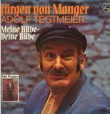 Albumcover Jürgen von Manger - Adolf Tegtmeier: Meine Rübe - Deine Rübe - manger_juergen_ruebe