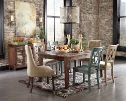 Klaussner International Klaussner International Urban Enchanting Old Brick Dining Room