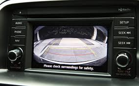 mazda manufacturer mazda cx 5 oem integrated backup camera system car safety