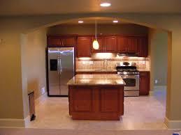Mini Kitchen Cabinet Kitchen Attractive Contemporary Basement Kitchen Ideas With