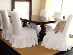 Pattern For Dining Room Chair Covers by Awesome White Dining Room Chair Covers Photos Rugoingmyway Us