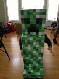 Halloween Minecraft Costume Happy Halloween Minecraft U0027s Creeper Mommy U0027s Busy Daddy