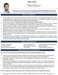 civil engineering resume examples civil engineer cv format u2013 civil engineer resume sample and template