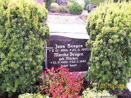 Grab von Jann Bengen (07.12.1894-25.06.1973), Friedhof Wiesederfehn - wh015