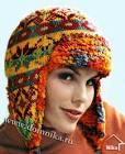Вязание спицами шапки толстая пряжа