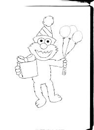 elmo birthday coloring page coloring page pedia