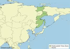 World Time Zones Map by Vlat Vladivostok Time Zone