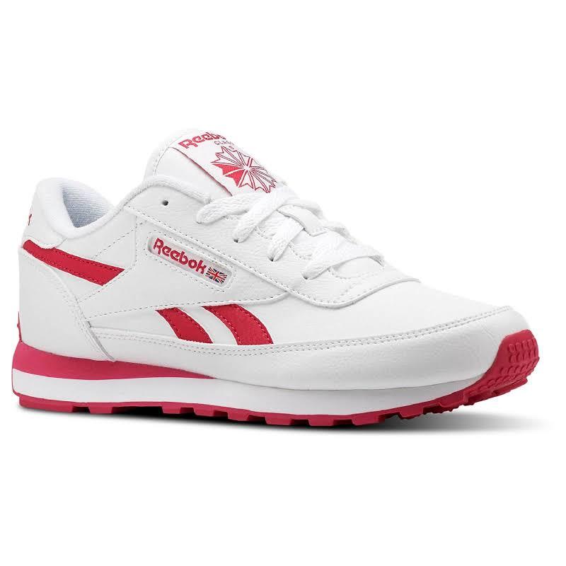 Reebok Cl Renaissance White/Rugged Rose Fashion Sneaker