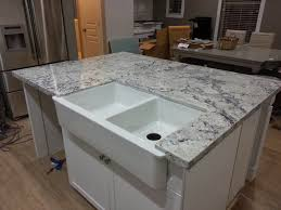 Granite Countertops Pros And Cons Adorable Grey With Pencil Edges - Granite kitchen sinks pros and cons