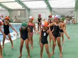 女子小中学生 水泳|県合宿ミニアルバム|TEAM中條