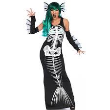 Kids Skeleton Halloween Costume by Mermaid Skeleton Siren Womens Costume Costumes