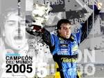 fernando alonso campeon f1 2005 wallpaper
