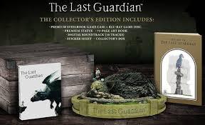 Edição de colecionador de The Last Guardian tem estatueta de Trico
