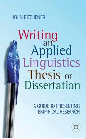 Writing an Applied Linguistics Thesis or Dissertation   John     Palgrave Higher Education