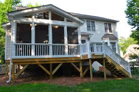 chippendale porch railing trendy atlanta georgia glass deck