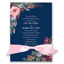 Discount Wedding Invitations With Free Response Cards Wedding Invitations With Ribbon U003e Wedding Invitations