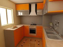 Orange And White Kitchen Ideas Kitchen Furniture Interior Kitchen Elegant Contemporary Kitchen