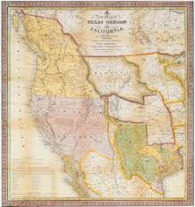 Mexico Map 1800 by A Continent Divided The U S Mexico War