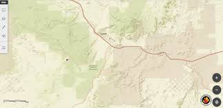 New Mexico Wildfire Map by Firefighters Responding To Wildfire In El Malpais National