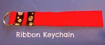crazylou fun kids craft ribbon key chains