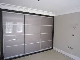 Home Decor Sliding Wardrobe Doors Sliding Wardrobes Wardrobe Doors Built In Modern Taupe Glass