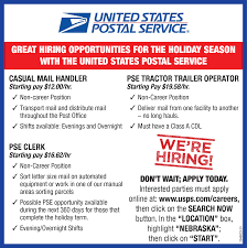 casual mail handler pse holiday clerk assistant clerks tractor