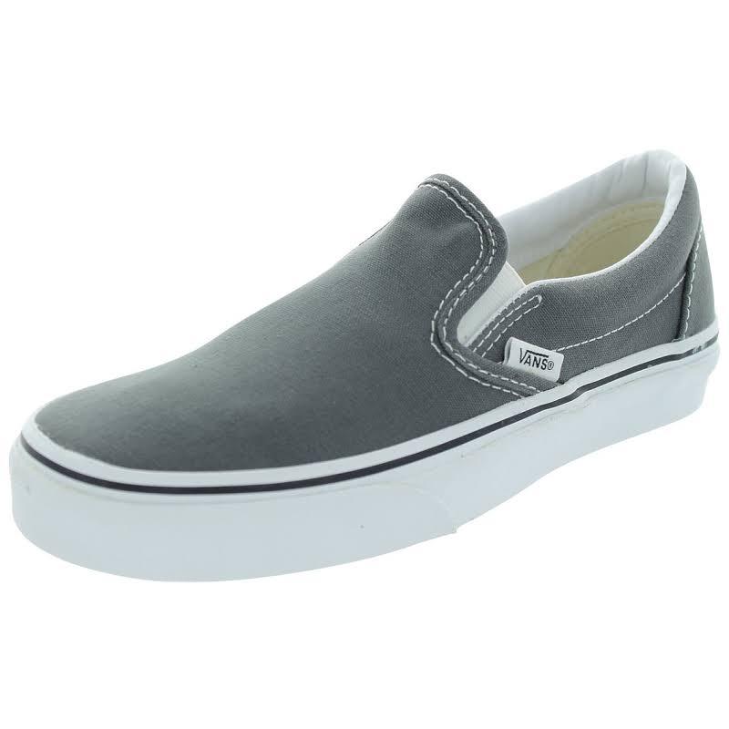 Vans Classic Slip-On (Charcoal) Skate Shoes-9.5