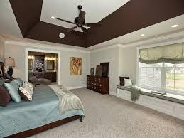 deep angled tray ceiling in master bedroom 3 pillar homes bedroom