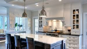 Marble Kitchen Designs Marble Com U0027s Guide For White Marble Countertops