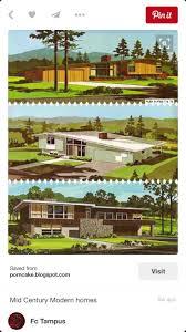 Mid Century Modern House Plan 39 Best Mid Century Modern Images On Pinterest Midcentury Modern
