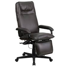 How To Stop Swivel Chair From Turning Amazon Com Flash Furniture High Back Brown Leather Executive