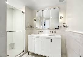Bathroom Sink Wall Faucets by Contemporary 3 4 Bathroom With Wall Sconce By The Corcoran Group