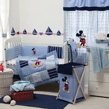 blue mickey mouse bedding collection crib bedding set petagadget