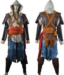 anime costumes for halloween assassin u0027s creed black flag edward kenway cosplay costume jacket