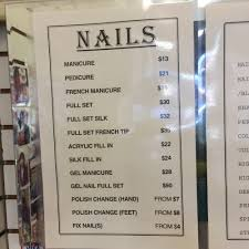 prices for nail services yelp