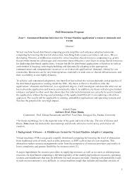 Types Of Research Questions Dissertation Research Proposal The Professor Is In