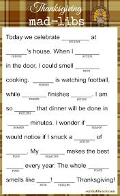 pinterest thanksgiving activities thanksgiving mad libs keep the kids and even the adults happy