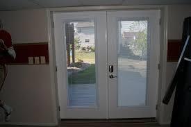 exterior door with blinds between glass top french doors with blinds inside glass with french doors with