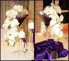 image detail for stemmed martini glass wedding centerpieces buy