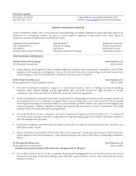 Officer Resume Compliance Manager Resume U2013 Sample Free Resume For Your Document