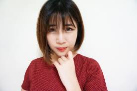 korean short hairstyles with bangs see through bangs trend kpop
