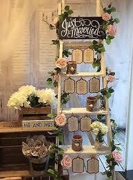 Shabby Chic Wedding Reception Ideas by Best 25 Ladder Wedding Ideas On Pinterest Reception Decorations
